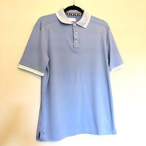 Ben Hogan Men's Light Blue Polo Shirt Medium